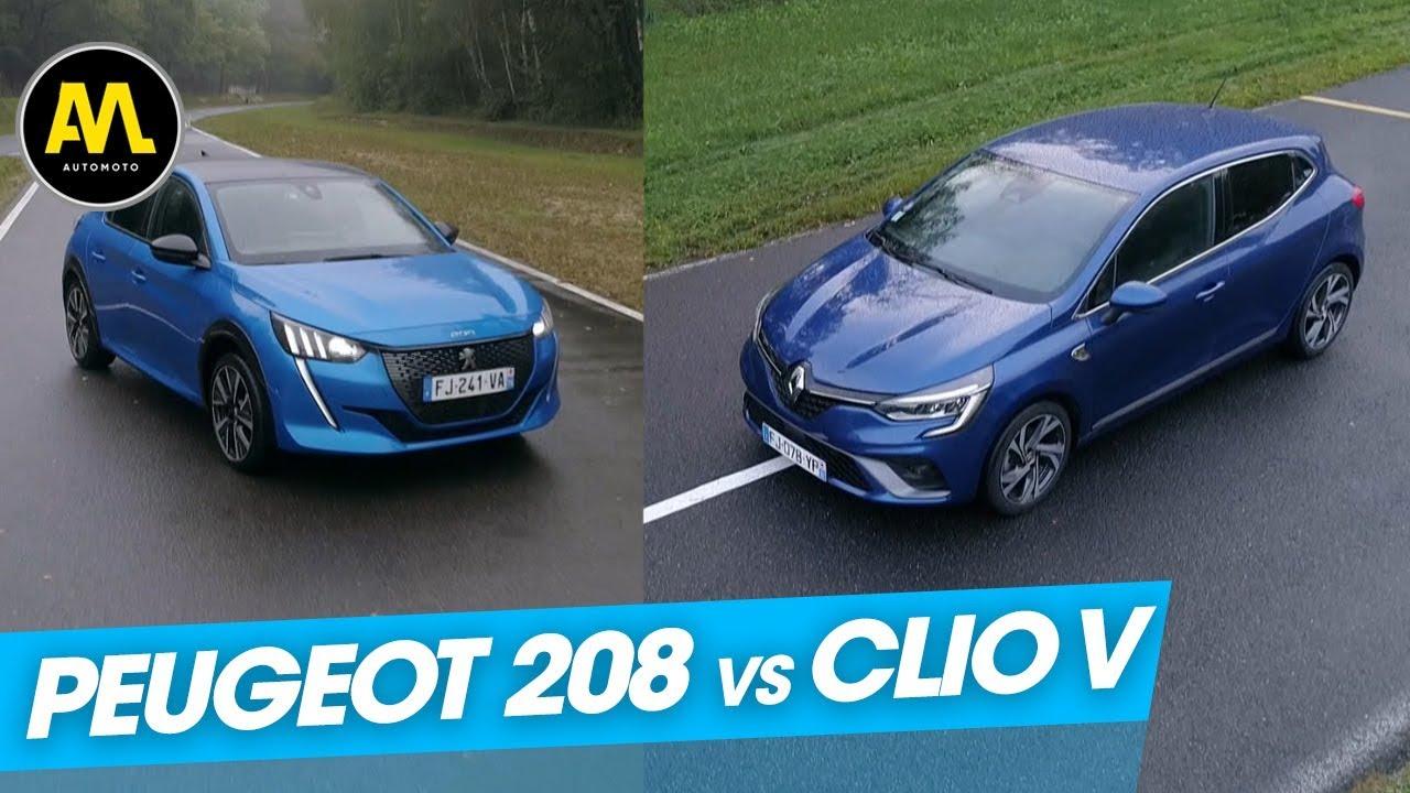 Download Peugeot 208 vs Renault Clio V : le grand duel !