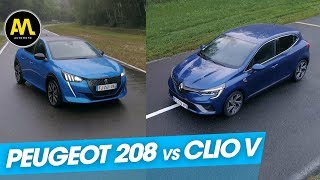Peugeot 208 vs Renault Clio V : le grand duel !