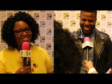Jamie Broadnax chats with Winston Duke about Marvel's