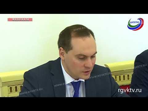 Премьер Дагестана встретился с руководителем корпоративного бизнеса банка ВТБ в СКФО