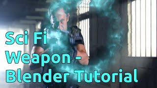 SciFi Weapon - Blender Tutorial