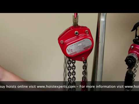 Hand Chain Hoist Demonstration