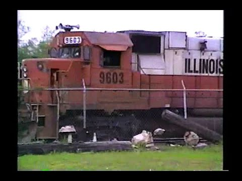 Railfan Tape 11, Part 1 - May 14 to 24, 1990