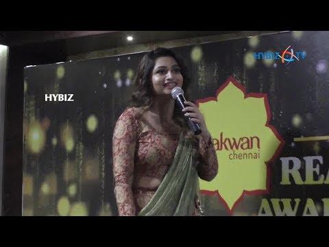 Actress Ramya - Realistic Awards 2018 Presented by Pakwan Chennai on Women's Day | Chennai