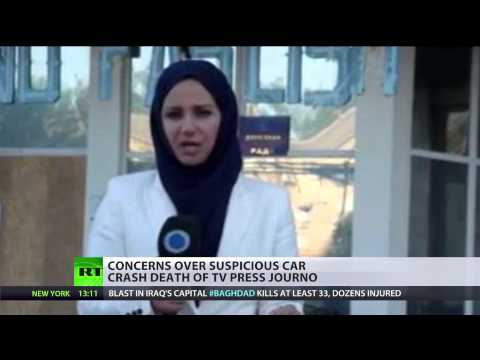 Press TV journalist accused by Turkey of spying dies in border car crash