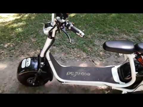 Обзор электросамоката-скутера Volta EcoRoad