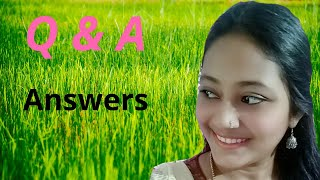 Q and A answers // Revealed my personals // Saji's telugu beauty and lifestyle
