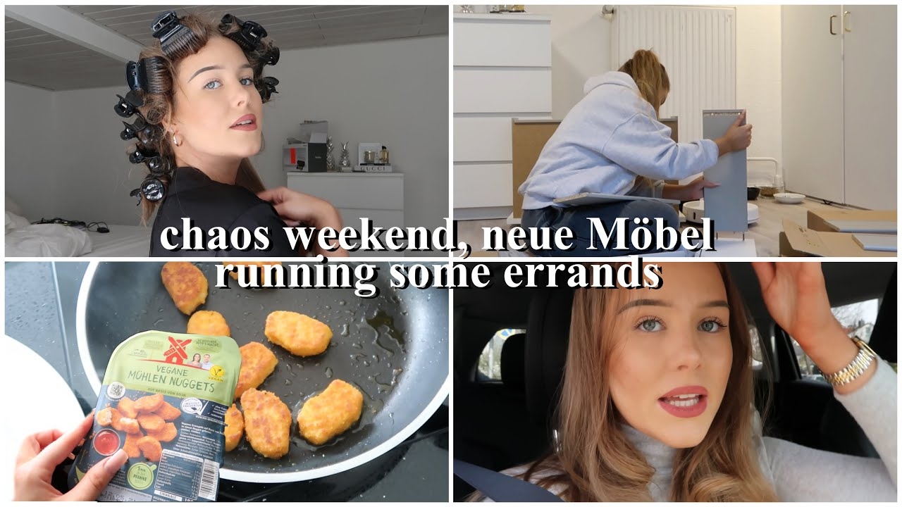 Weekend Vlog: review babyliss Lockenwickler (in love), testing vegan meat, chaos day  -annso