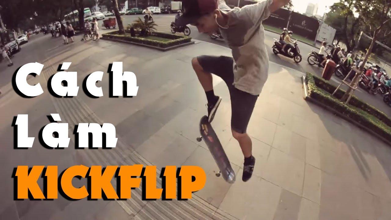 SAIGON SKATESHOP TRICKTIPS - KICKFLIP by CUTIS
