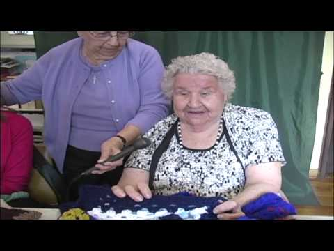 Blind Ladies Bond and Create at VIP Crochet and Knitting | Catholic Charities