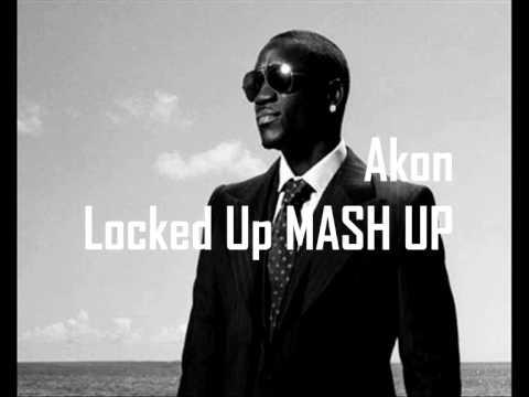 Akon - La la la locked up MASH UP Auburn - La la la