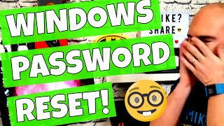 Windows Password Reset Tool How To Download & Make The Boot Disk