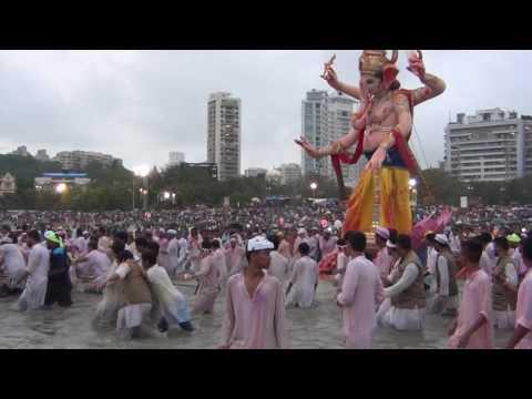 Ganesh Galli Visarjan at Girgaon...