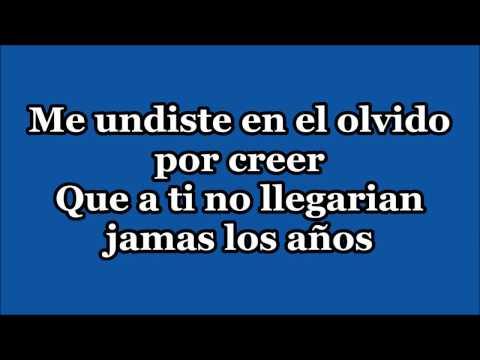 Vicente Fernandez Por Tu Maldito Amor Lyrics