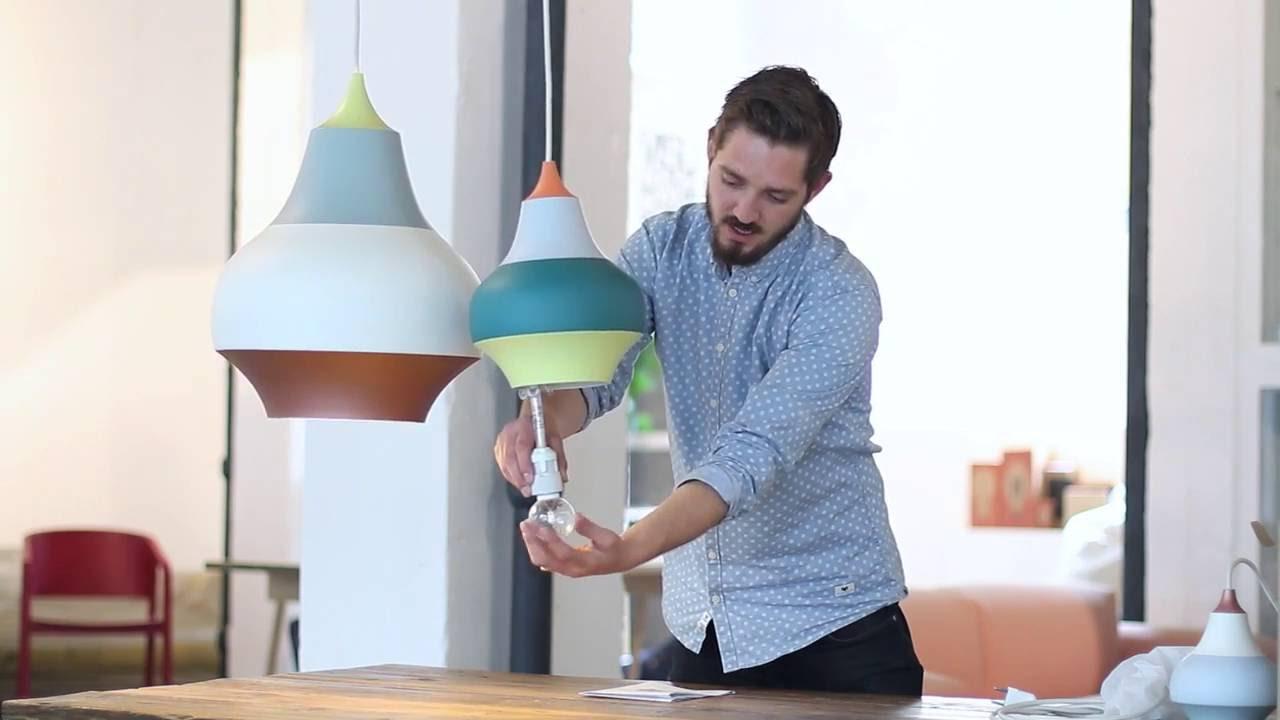louis poulsen cirque lamp mintroom youtube. Black Bedroom Furniture Sets. Home Design Ideas