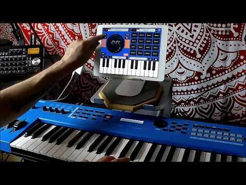 Yamaha FM Essential & The Yamaha MX49 - Demo For The IPad