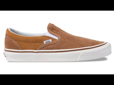 """a81673ac40 Shoe Review  Vans """"Anaheim Factory"""" Classic Slip-On Style 98 DX (OG Hart  Brown Corduroy)"""