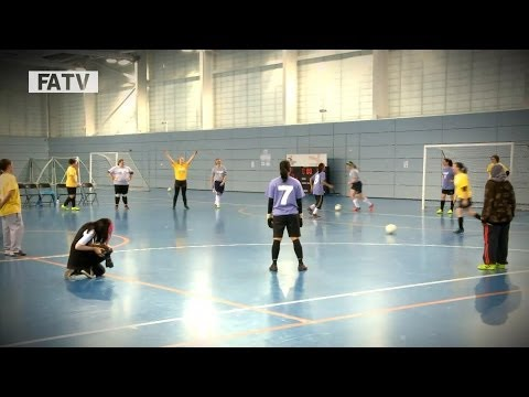 MWSF @ SGP: The Muslim Womens Sports Federation host Training at St George's Park