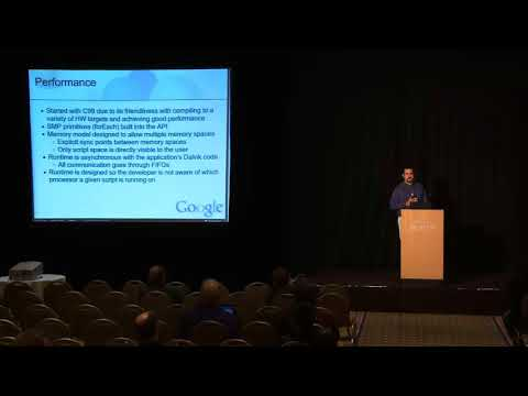 "2011 LLVM Developers' Meeting: S. Hines ""Android Renderscript"""