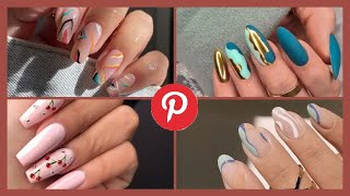 Top 2021 Nail Trends from #pinterest 💅🏾| Easy nail ideas | OyinE