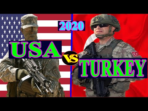 Usa vs Turkey Military Power Comparison 2020 (Latest Update)