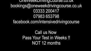 Intensive Driving Courses Workington | Driving Lessons Workington