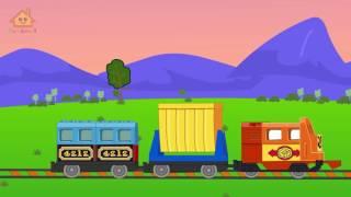 Choo Choo Train - Lego Train - Train Cartoons for Children - Train Videos for Kids