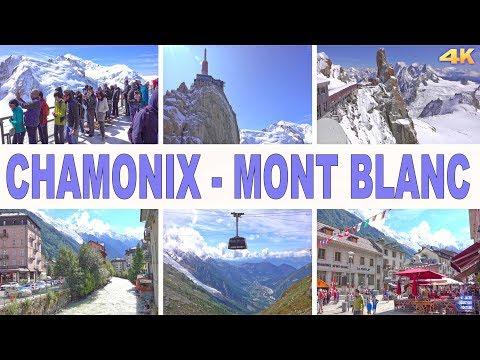 CHAMONIX , MONT BLANC - FRANCE 2017 4K