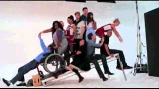 Behind the Scenes of Glee Photoshoot for Season 2