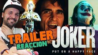 JOKER - LO MEJOR DESDE TDK !!! TRAILER REACCIÓN - REACTION - REVIEW - WARNER - DC - JOAQUIN PHOENIX