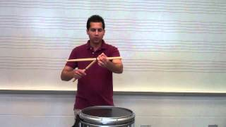 Traditional Grip - How to Drum with Traditional Grip