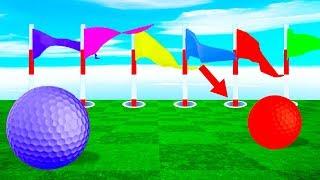 КУДА БИТЬ? 0,001% ШАНСОВ ПОПАСТЬ В ЛУНКУ! ПРОШЛИ ЗАПУТАННУЮ И СЛОЖНУЮ КАРТУ В ГОЛЬФ ИТ (Golf It)