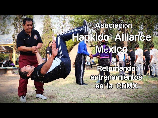 Hapkido Alliance México retomando entrenamientos defensa personal en CDMX