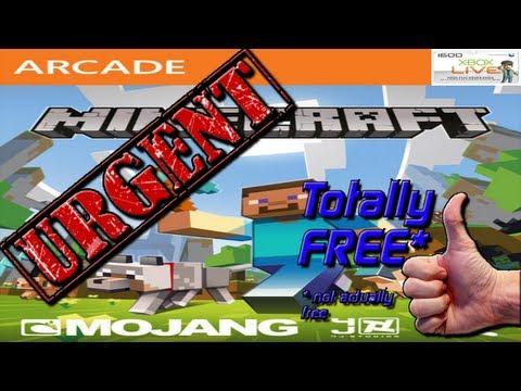 Minecraft Xbox 360 Edition Free ?!?! WTF!