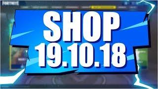 Sklep Fortnite 19.10.18 Sezon 6   Sanktum, oraz? - Daily Item shop October 19.10 - Update