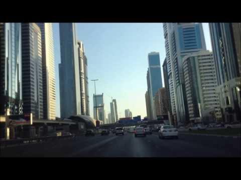 Dubai Real Trip by car