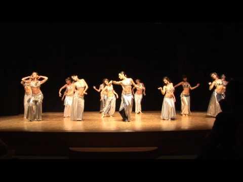Eva Sampedro - Coreografía Baladi Ballet Oriental (Bellydance Evolution)(19-06-2010)