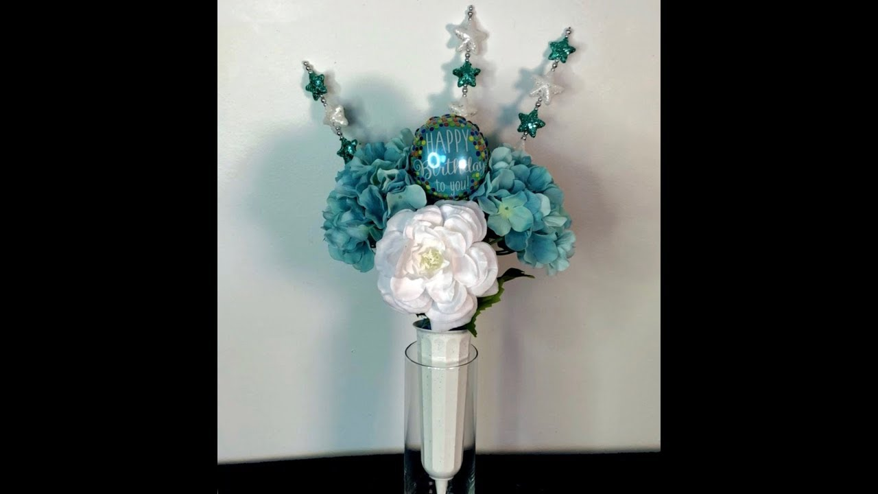 How To Make An Artificial Floral Cemetery Arrangement For Only 10 00 Youtube