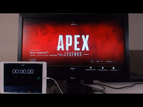 Downloading Apex Legends at 1000Mbps on PS4 (Gigabit Internet)