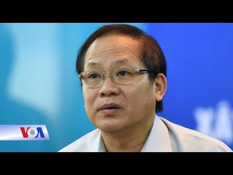 Ông Trương Minh Tuấn 'tạm' mất chức Bộ trưởng (VOA)