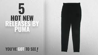 Hot New Puma Women Clothing [2018]: PUMA Womens Fitted Pull on Sweatpants Black S