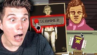 Ich benutze den Scanner und sehe ihre Unterwäsche 😱 | Grenzposten Simulator