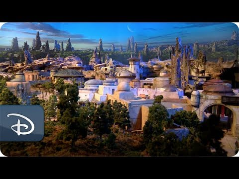 Star Wars-Inspired Land Model   Disney Parks