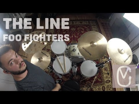 Foo Fighters - The Line - Drum Cover