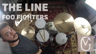 Foo Fighters The Line Drum Cover