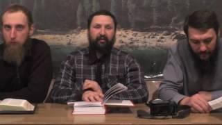 Занятие после богослужения.  Послание к Колоссянам православным.  4 гл.  15.01. 2017