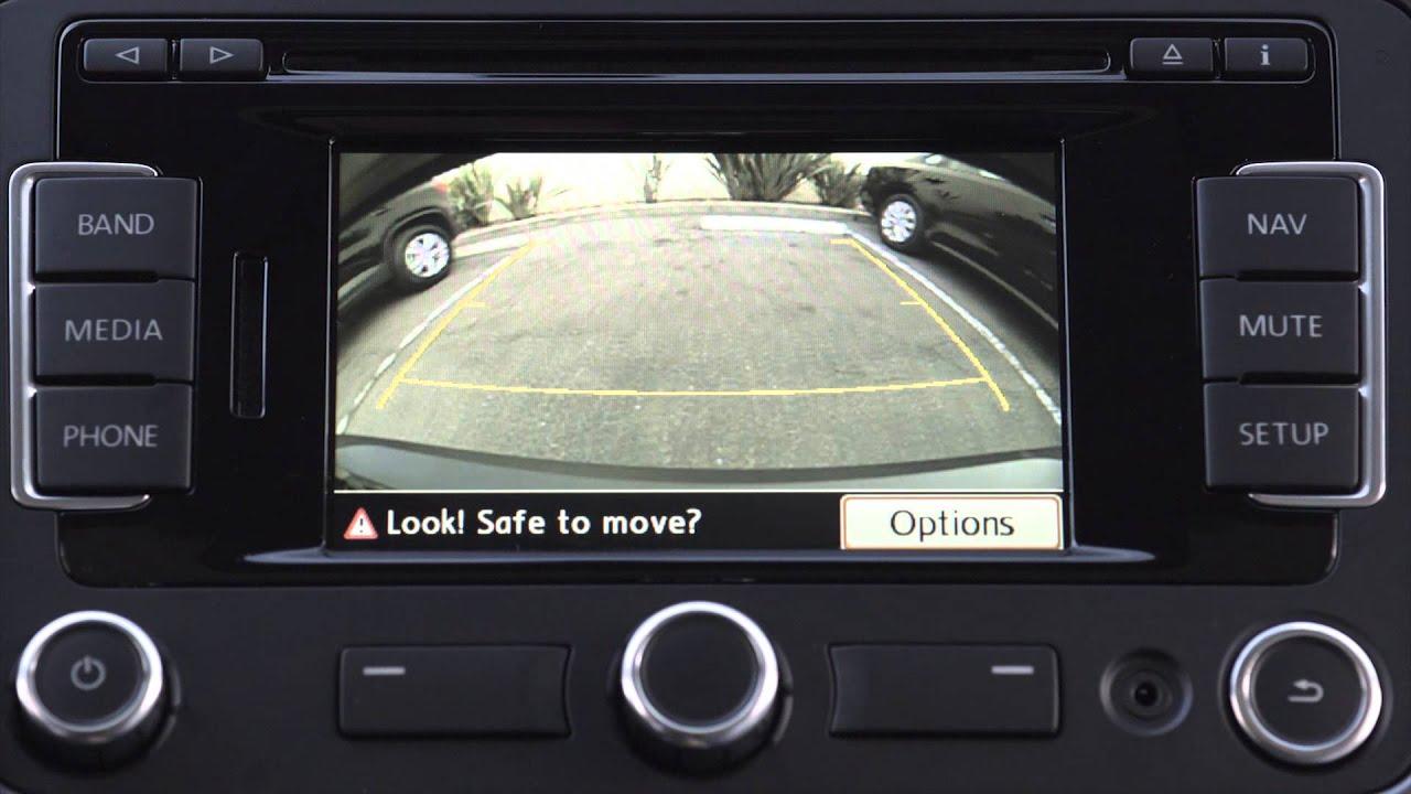 volkswagen tiguan sel rearview camera youtube