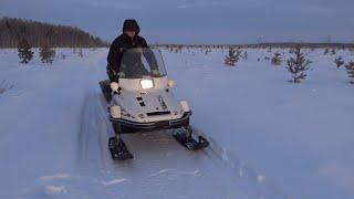 Рыбалка зимой на Севере. Проверка поставух на щуку,15 января. Дебют Наташи-