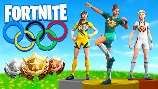 Смотреть клип The OLYMPICS In Fortnite Battle Royale! онлайн