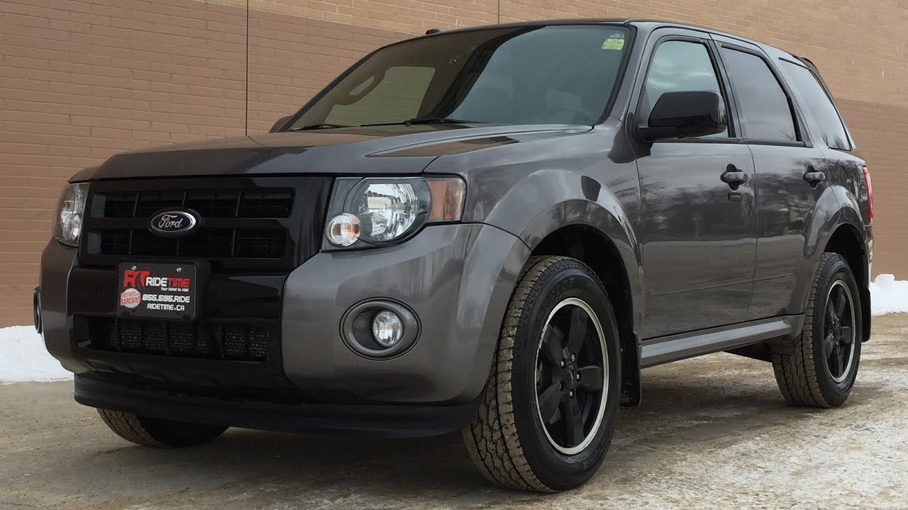 Grey Ford Escape >> 2012 Ford Escape XLT 4WD w/ Sport Appearance Package - Leather | GREAT VALUE - YouTube